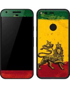 The Lion of Judah Rasta Flag Google Pixel Skin
