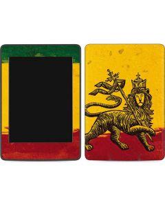 The Lion of Judah Rasta Flag Amazon Kindle Skin