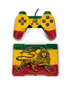 The Lion of Judah Rasta Flag PlayStation Classic Bundle Skin