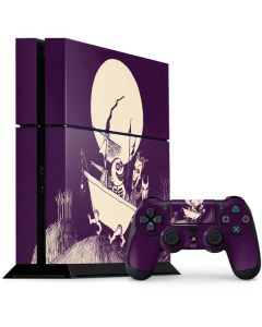 The Nightmare Before Christmas PS4 Console and Controller Bundle Skin