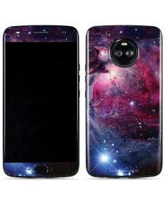 The Orion Nebula Pink Moto X4 Skin