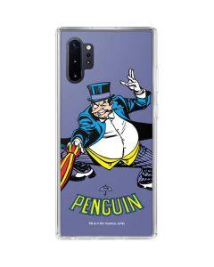 The Penguin Portrait Galaxy Note 10 Plus Clear Case