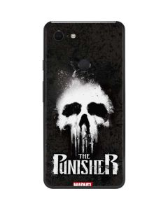 The Punisher White Skull Google Pixel 3 XL Skin
