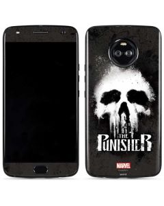 The Punisher White Skull Moto X4 Skin