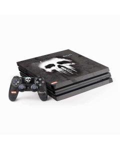 The Punisher White Skull PS4 Pro Bundle Skin