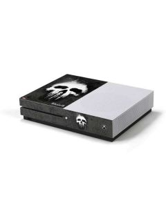 The Punisher White Skull Xbox One S Console Skin