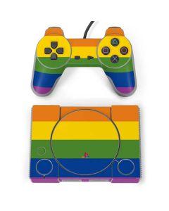 The Rainbow Flag PlayStation Classic Bundle Skin