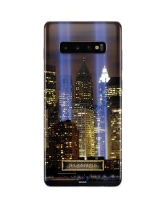 The Tribute in Light Memorial Galaxy S10 Plus Skin