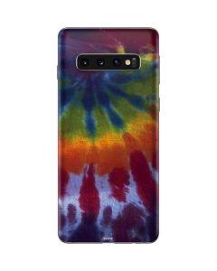 Tie Dye Galaxy S10 Skin