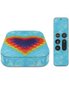 Tie Dye Heart Apple TV Skin