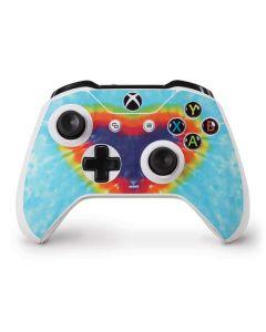 Tie Dye Heart Xbox One S Controller Skin