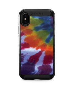 Tie Dye iPhone X Cargo Case