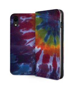 Tie Dye iPhone XR Folio Case