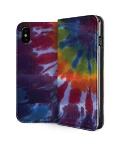Tie Dye iPhone XS Max Folio Case