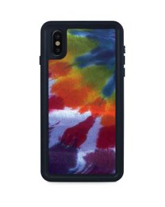 Tie Dye iPhone XS Max Waterproof Case