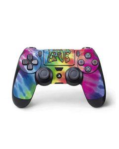 Tie Dye Peace & Love PS4 Pro/Slim Controller Skin