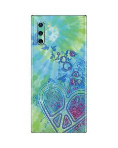 Tie Dye Peace Heart Galaxy Note 10 Skin