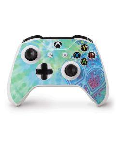 Tie Dye Peace Heart Xbox One S Controller Skin