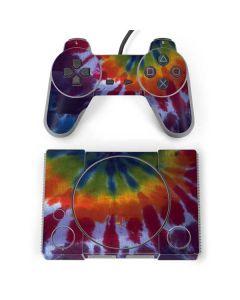 Tie Dye PlayStation Classic Bundle Skin