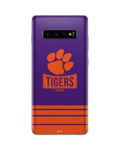 Tigers Clemson Galaxy S10 Plus Skin