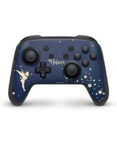 Tinker Bell Believe Nintendo Switch Pro Controller Skin