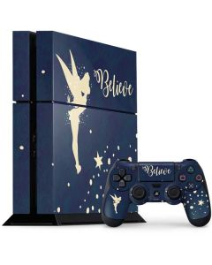 Tinker Bell Believe PS4 Console and Controller Bundle Skin