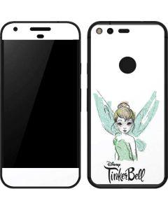 Tinker Bell Watercolor Fairy Google Pixel Skin