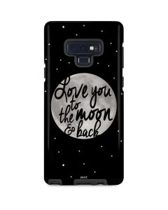 To The Moon And Back BW Galaxy Note 9 Pro Case