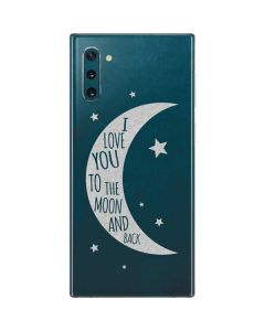 To The Moon And Back Galaxy Note 10 Skin