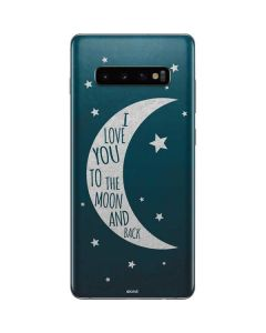 To The Moon And Back Galaxy S10 Plus Skin