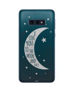 To The Moon And Back Galaxy S10e Skin