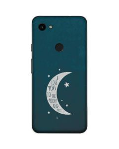 To The Moon And Back Google Pixel 3a Skin