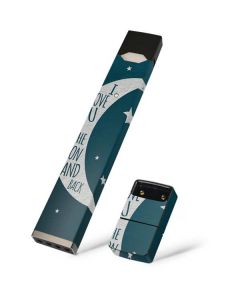 To The Moon And Back Juul E-Cigarette Skin