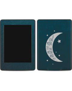 To The Moon And Back Amazon Kindle Skin