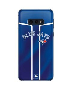 Toronto Blue Jays Alternate Jersey Galaxy S10e Skin