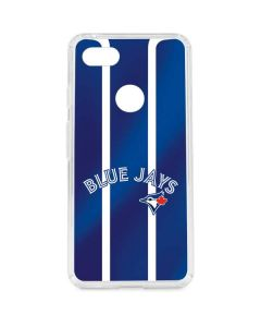 Toronto Blue Jays Alternate Jersey Google Pixel 3 XL Clear Case