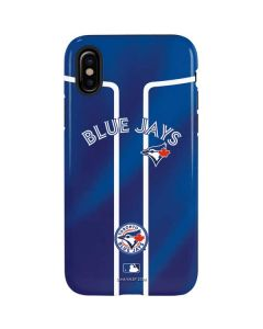 Toronto Blue Jays Alternate Jersey iPhone X Pro Case