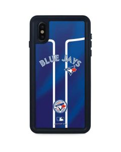Toronto Blue Jays Alternate Jersey iPhone XS Max Waterproof Case