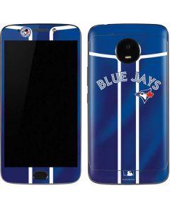 Toronto Blue Jays Alternate Jersey Moto E4 Plus Skin