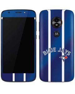 Toronto Blue Jays Alternate Jersey Moto E5 Play Skin