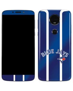 Toronto Blue Jays Alternate Jersey Moto E5 Plus Skin