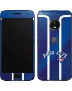 Toronto Blue Jays Alternate Jersey Moto G5 Plus Skin