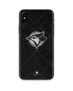 Toronto Blue Jays Dark Wash iPhone XS Max Skin