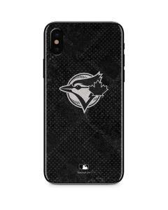 Toronto Blue Jays Dark Wash iPhone XS Skin