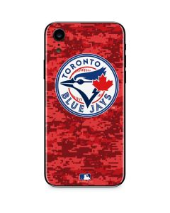 Toronto Blue Jays Digi Camo iPhone XR Skin