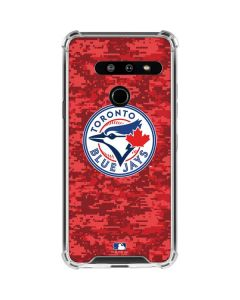 Toronto Blue Jays Digi Camo LG G8 ThinQ Clear Case