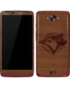 Toronto Blue Jays Engraved Motorola Droid Skin