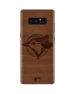 Toronto Blue Jays Engraved Galaxy Note 8 Skin