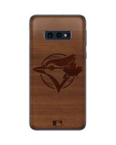 Toronto Blue Jays Engraved Galaxy S10e Skin