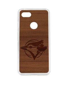 Toronto Blue Jays Engraved Google Pixel 3 XL Clear Case